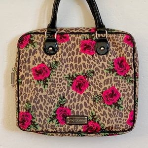 Betsey Johnson laptop case, Betsey Johnson bag